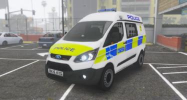 Metropolitan Police Ford Transit