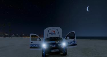 Renault Kangoo Police