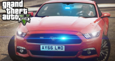Unmarked 2016 Ford Mustang