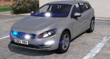 Unmarked Volvo V60
