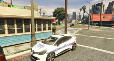 Clio 4 Pack Police Française