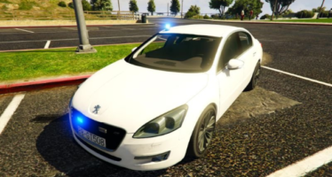 Peugeot 508 Unmarked Police