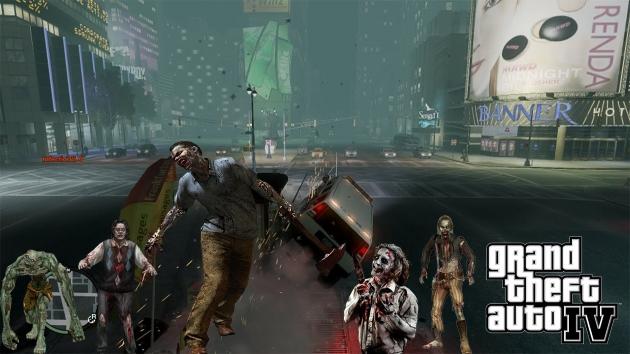 GTA IV Zombie Mod