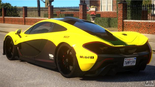McLaren P1 Harrods GTR