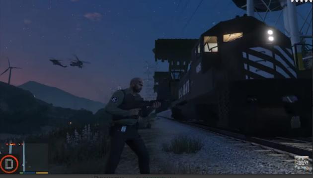 US Army Military Train