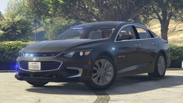 Unmarked Chevrolet Malibu