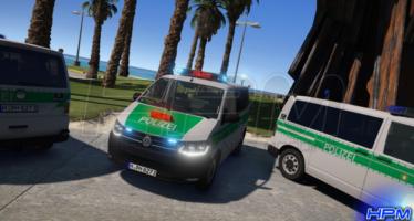 VW T6 Polizei