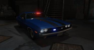 Dodge challenger unmarked