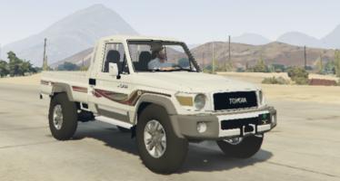 Скачать машину 2015 Toyota Land Cruiser Pickup для GTA V
