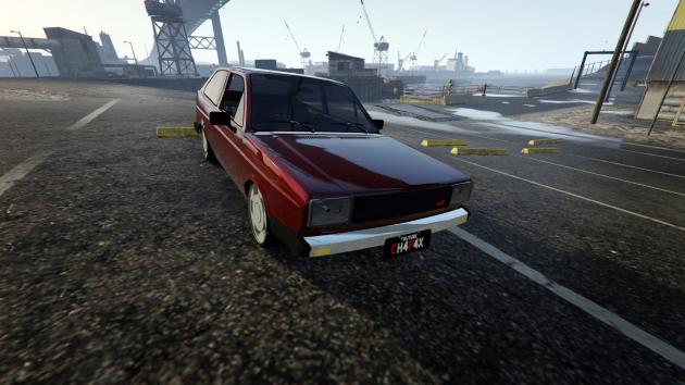 1981 Volkswagen Gol Turbo