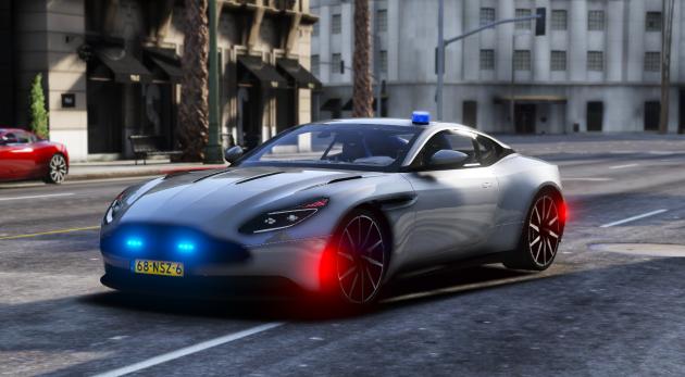 Aston Martin DB11 Police