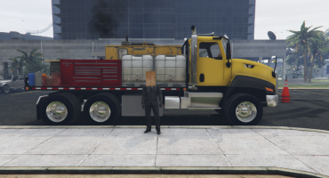 Bagged CT660 Service Truck