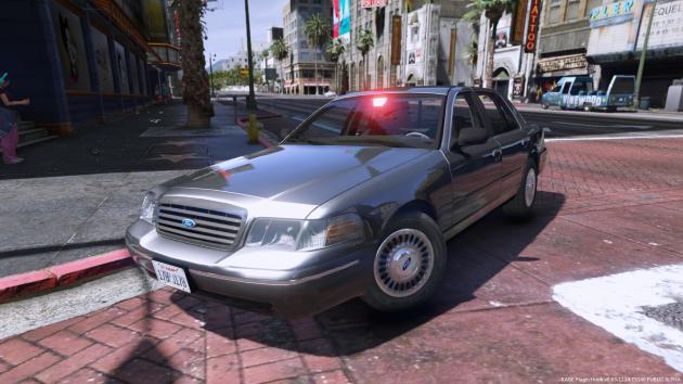 CVPI LAPD