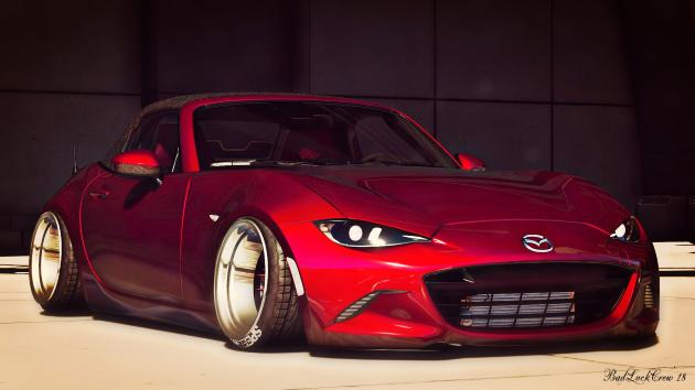 Mazda MX5 Stance 2016