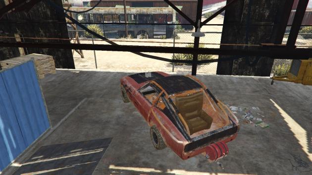 Datsun 240z Mad Max
