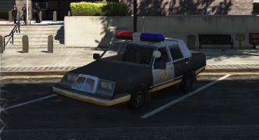 Fortnite police car