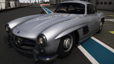 Mercedes Benz 300 SL HQ 1954