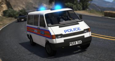 Metropolitan Police VW T4