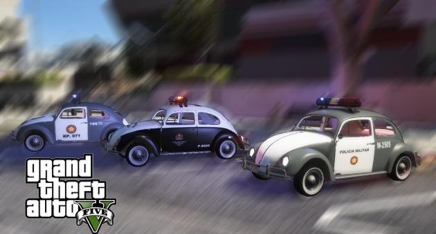 Volkswagen Beetle — Fusca PMESP
