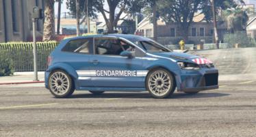 Volkswagen Polo R Gendarmerie