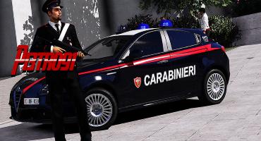 Alfa Romeo Giulietta - Carabinieri