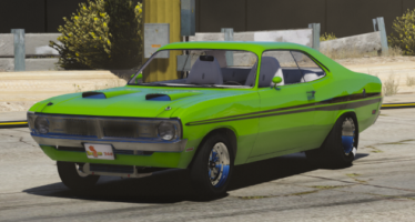 Dodge Dart Demon Drag