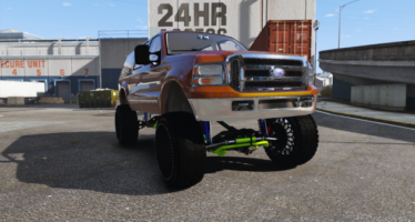 Ford Excursion SEMA