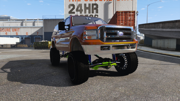 2000 Ford Excursion SEMA Edition
