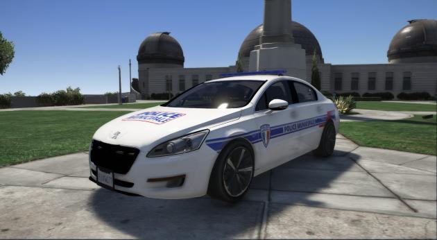 Peugeot 508 Police Municipale
