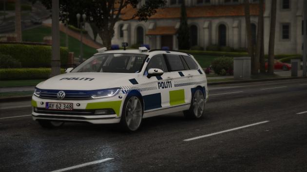 Volkswagen Passat Estate 2015 – Danish Police
