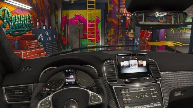 Салон Mercedes-AMG GLS 63X166