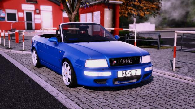 1995 Audi 80 Cabriolet HKRS2