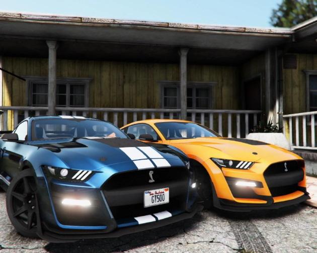 Автомобиль2020 Ford Mustang Shelby GT500