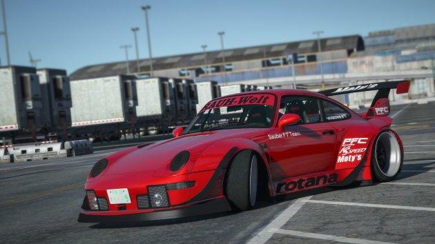 """Porsche 911 RWB (993) """"Rotana"""" '93"""