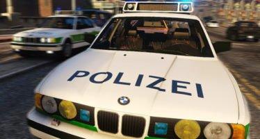 BMW 535i Polizei