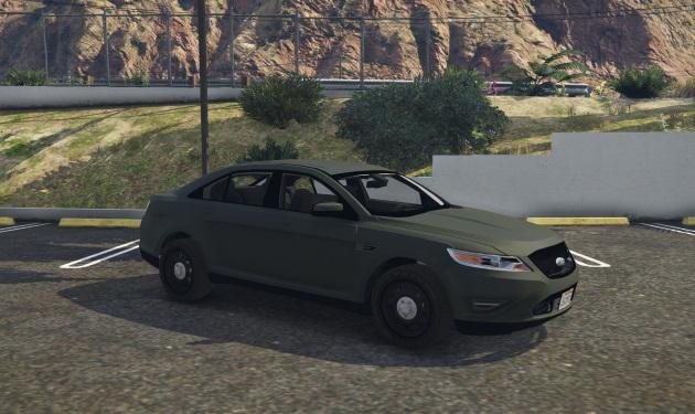 Ford Taurus Civ version