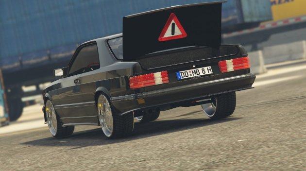 Mercedes Benz 560 SEC 1991