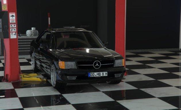 Mercedes Benz 560 SEC 1991 W126 Coupe