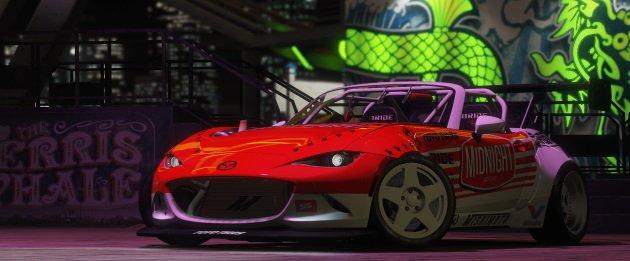 Midnight Miata FD Spec Mazda MX-5