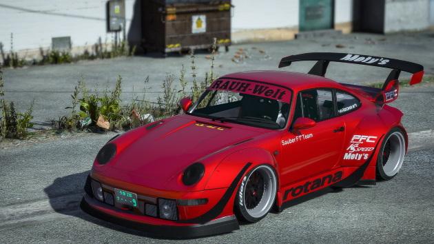 Porsche 911 RWB (993) «Rotana» '93