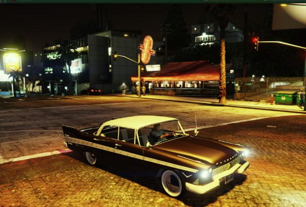 1957 Plymouth Belvedere 4dr sedan