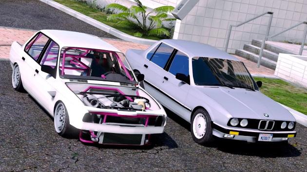 Автомобиль1986 BMW 325E