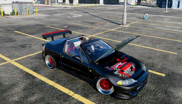 Honda Civic Delsol