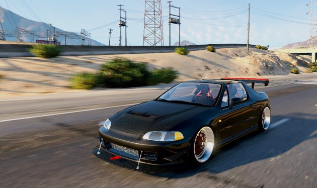 Honda Civic Delsol (Civic EG VTI 1994 Frontswap)