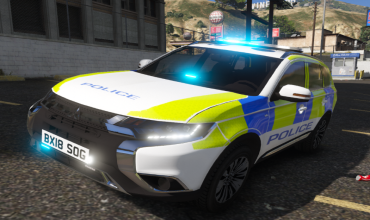 2018 Mitsubishi Outlander – Полицейская машина