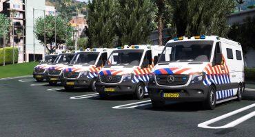 Mercedes Sprinter Arrestantenvervoer Politie