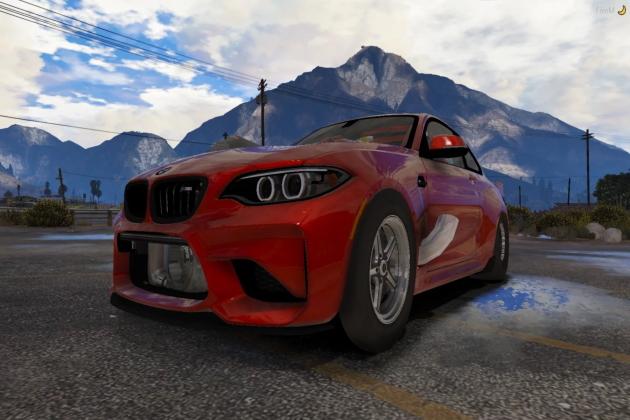 Мод Drag BMW M2