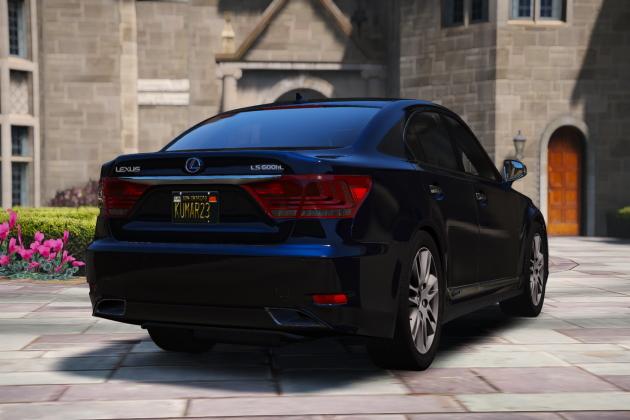 Мод Lexus LS600hl