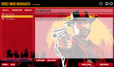 Mod Manager для Red Dead Redemption 2