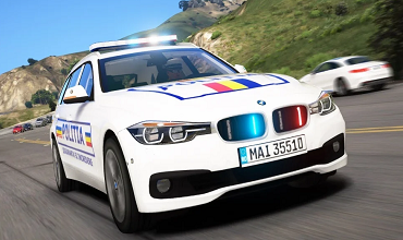BMW 330D F30 Politia Romana